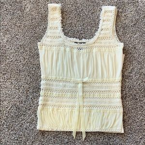 NWT Dolce Cabo Top - Ivory - Medium